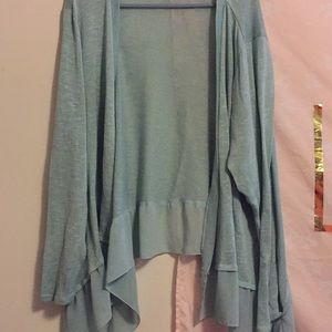 ‼️CHECK THIS OUT ‼️ Torrid cardigan teal color